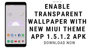 MIUI Theme App 1.5.1.2 APK-Download ...