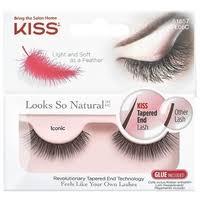 Kiss <b>накладные ресницы Looks so</b> Natural Iconic — купить по ...