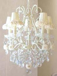 shabby chic chandelier shabby chic chandeliers with flower shades shabby chic chandelier ceiling fan