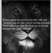 Fooling Yourself Quotes Best of Daily Quotes If You Expect The World To Be Fair With You Because