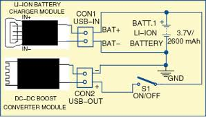 power bank for smartphones circuit with full explanation 3 Bank Battery Charger Diagram 1 circuit diagram of the power bank 3 bank battery charger diagram