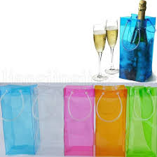 2018 chiller ice bag champagne wine cooler 0 5mm 11 11 25cm wine accessories portable beer cooler transpa pvc outdoor bag ooa5219 uk 2019 from trubisky