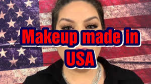 makeup made in the usa tutorial
