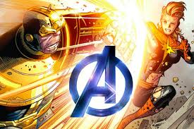 Image result for captain marvel vs thanos