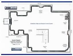 basement drainage design. Compare Basement Drainage Design B