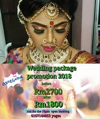 indian bridal makeup course in ipoh