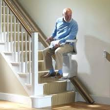 Stair chair lift Homemade Stair Chair With Man Riding Upstairs Stair Elevator Chair Lift Best Colors For Bathroom Stair Chair With Man Riding Upstairs Stair Elevator Chair Lift