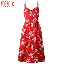 <b>Summer Women</b> Dress <b>2019</b> Vintage <b>Sexy</b> Bohemian Floral Tunic ...
