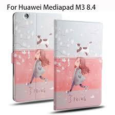Fashion <b>Leather Case For</b> Huawei MediaPad M3 8.4 inch BTV W09 ...
