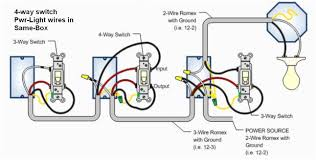 three way light switch wiring diagram wiring diagram prepossessing 4 wiring diagram for 3 way and 4 switches fresh switch multiple lights simple