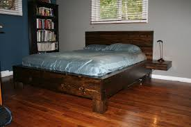 Platform bed with floating nightstands Headboard Picture Of Diy Platform Bed With Floating Nightstands Instructables Diy Platform Bed With Floating Nightstands Steps with Pictures