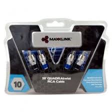 pioneer gm d9601. maxxlink 6m 2 ch quadratwist premium rca cable (vcak-4v3) pioneer gm d9601 m