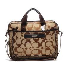 Coach In Monogram Large Khaki Business bags DHH