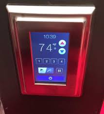 delta faucets user friendly digital touch screen shower control pane