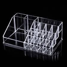 cosmetic organizer clear acrylic makeup drawers holder case box jewelry storage ebay