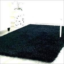 fuzzy black fur carpet rugs furry rug awesome ideas with regard to area