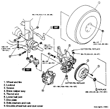 38 front hub and related ponents exploded view 4wd