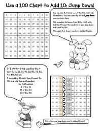 1st Grade Add And Subtract 10 From A 2 Digit Number Common Core Activities