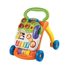 VTech Sit-to-Stand Learning Walker (Frustration Free Packaging) Best Toys for 1 Year Old Boy: Amazon.com