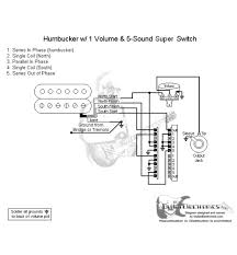 wiring hss guitar fender s1 switch 2 wire vs 4 wire humbucker and heres a schematic for a fender 5 way super switch for a 4 wire humbucker after which you run the hot and ground off it to the s1 switch if i