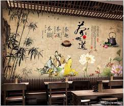 3d Wallpaper Custom Photo Traditional ...