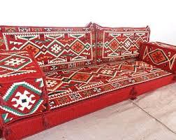 floor seating. Arabic Style Majlis Floor Sofa Set, Couch, Oriental Seating, Seating Sofa, Ethnic Sofa,bohemian Furniture,living Room B