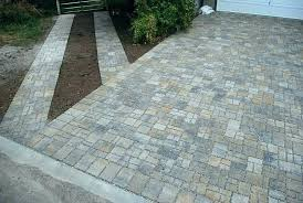 over concrete driveway amazing construction pavers patio how to install existing pat