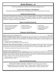 Prissy Inspiration Er Nurse Resume 10 Best Resume Sample For Nurse ...