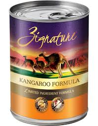 Zignature Feeding Chart Zignature Dog Canned Food Kangaroo 13 Oz Case
