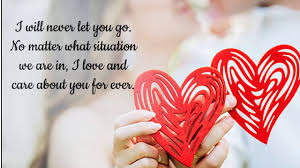 sweet love text es for him