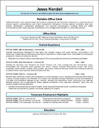 Payroll Clerk Resume Awesome Courtesy Clerk Resume Sample Office Clerk Resume Resume Objective