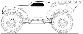 Printable Monster Truck Coloring Pages New Free Printable Monster