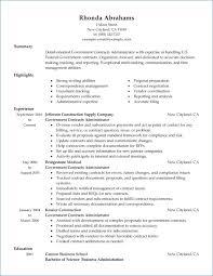 Infantry Resume Civilian Resume Example