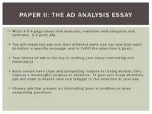 ads analysis essay my family essay sample paraphrasing online ad analysis essay examples 762