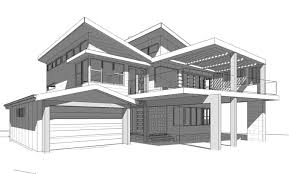 architecture drawing. Modern Architecture Drawing E