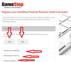 register your gamestop powerup rewards credit card jpg