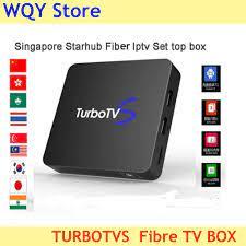 Singapura Starhub Serat Turbo Televisi Smart TV Box 2GB + 16GB Wifi  Bluetooth Singapura Malaysia Korea India Thailand jepang Menggunakan|Set-top  Box