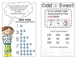 Odd And Even Chart Odd And Even Numbers Mini Anchor Chart Sort Activity