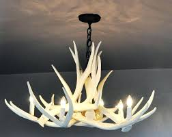 faux antler chandelier uk white home design