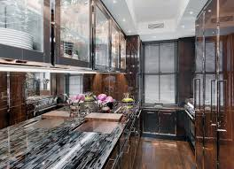 Mirrored Kitchen Cabinet Doors Interior Breathtaking Kitchen Decoration With Modern Mirrored