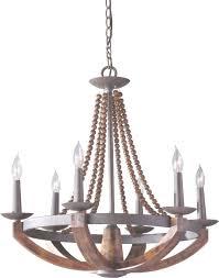 12 best rustic wood and metal chandeliers qosy in wood and metal chandelier view