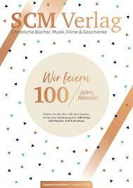 Scm Verlag Gesamtvorschau Frühjahr 2019 By Scm Verlagsgruppe Issuu