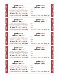 templates for raffle tickets in microsoft word raffle tickets office templates