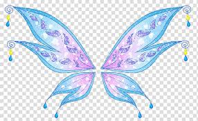 Find this pin and more on wings and feathers by kayleen dreadfairy. Tecna Winx Club Believix In You Bloom Musa Flora Wings Transparent Background Png Clipart Hiclipart