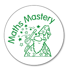 Maths Mastery Stamper - Wizard | Green | 21mm | Pre-Inked