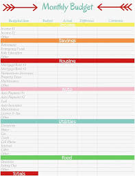 Printable Budget Worksheet 650 843 Printable Budget