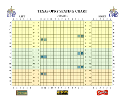 sight and sound theater seating chart meeting room theater al texas opry theater
