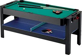 Amazon.com : Fat Cat Original 3-in-1, 6-Foot Flip Game Table (Air Hockey, Billiards and Tennis) Combination Tables Sports \u0026 Outdoors
