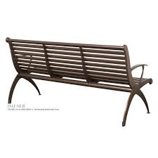 bench with arms. Boomerang Bench With Arms