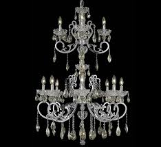 aria collection 12 light extra large crystal chandelier